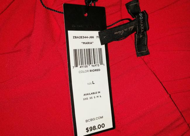 BCBG Paris Relaxed Pants Red