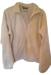 Colombia Sportswear Columbia Sportswear women's sz M white full zip fleece jacket