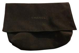 Chanel Chanel 7x5.5 Micro Suede Fold Over Dust Storage Bag