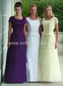 Light Purple Ms091 Rehearsal Dinner Bridesmaid Evening Modest Dress