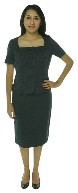 Item - Black and White Bermuda Skirt Suit Size 6 (S)