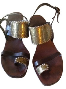 Henry Beguelin Brown Sandals