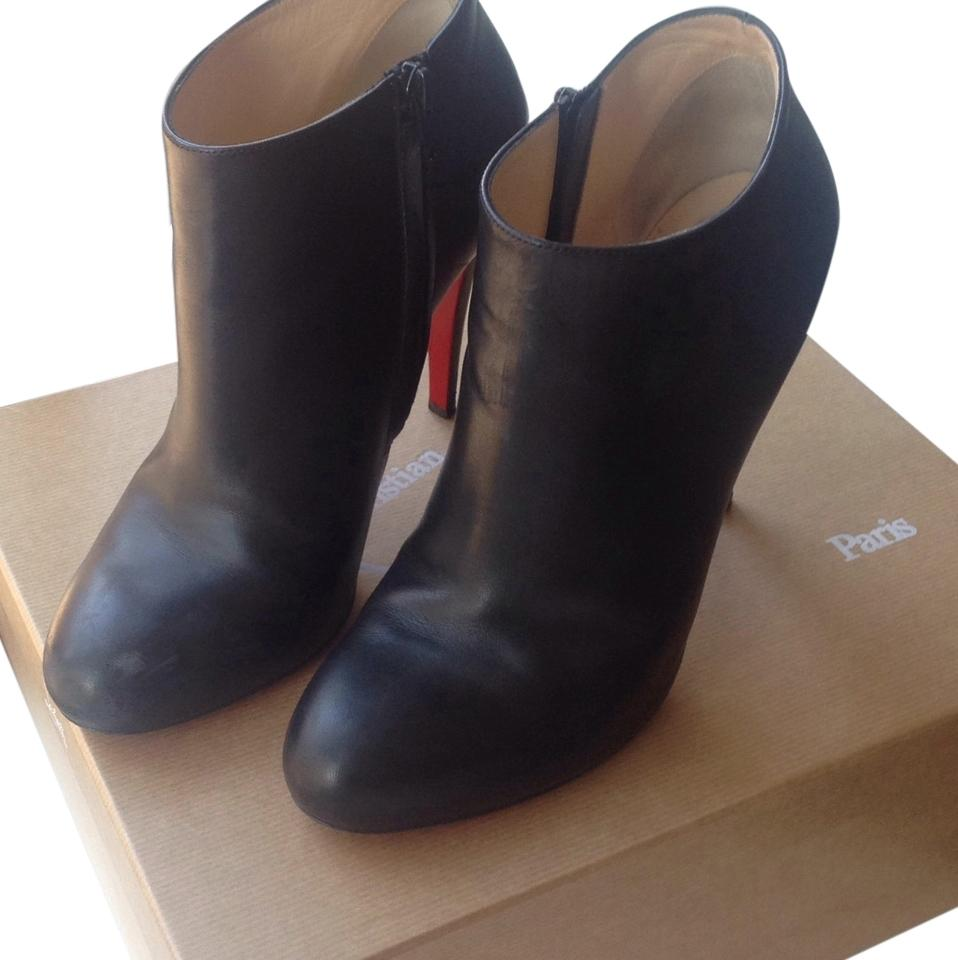 various colors 275db da5c9 Christian Louboutin Black Belle 100mm Calf Leather Boots/Booties Size US 11  Regular (M, B) 46% off retail
