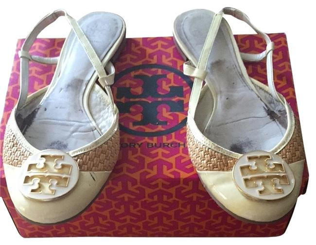 Item - White Reva Flats Size US 11 Wide (C, D)