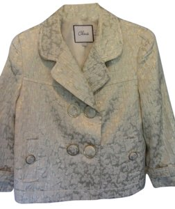 Chaus beige with metallic design Jacket