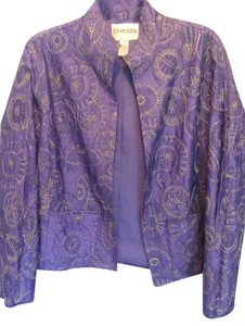 Chico's purple Jacket