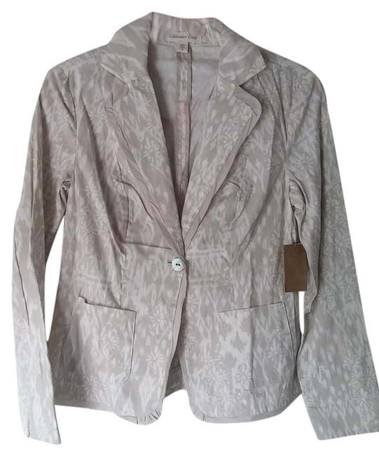 Preload https://item5.tradesy.com/images/coldwater-creek-tanwhite-multi-blazer-5311579-0-0.jpg?width=400&height=650