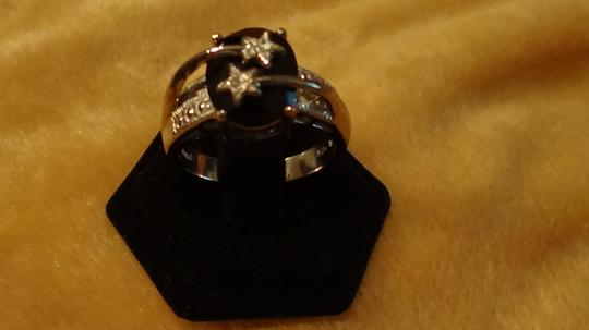Charles Winston Charles Winston size 9 double star ring