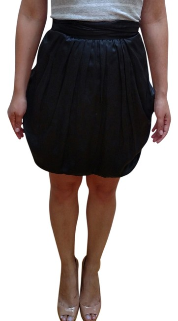 Marc by Marc Jacobs Tulip Tie Pockets Mini Skirt Black