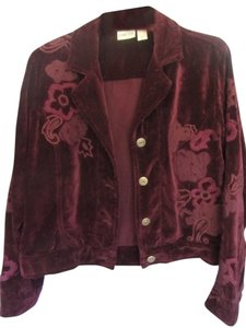 Chico's deep purple/raspberry Jacket