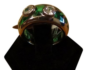 Angelique de Paris Angeliqe De Paris green ring size 6