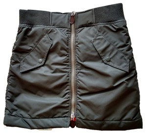 Marc Jacobs Water-resistant Winter Mini Skirt Olive green