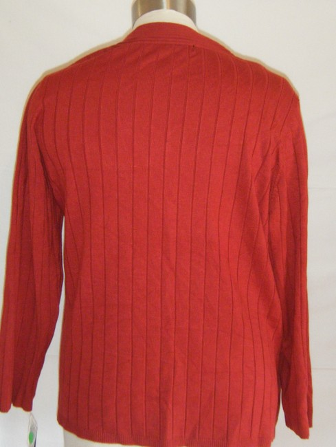 Style & Co Stretch 3x Ribbed Top BURGUNDY
