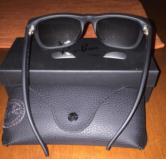 Ray-Ban RB 4165- Justin Sunglasses with Silver Gradient Mirror lenses