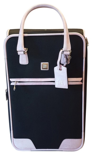 Item - Carry-on Luggage Black Canvas Weekend/Travel Bag