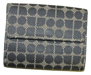 Kate Spade Kate Spade Black Fabric and Leather Wallet