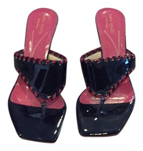 Kate Spade Navy with red trim Sandals