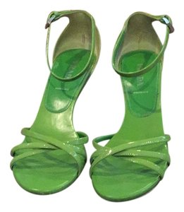 Prada Green apple Sandals