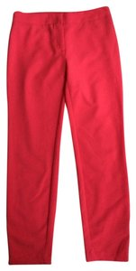Rachel Roy Straight Pants Red