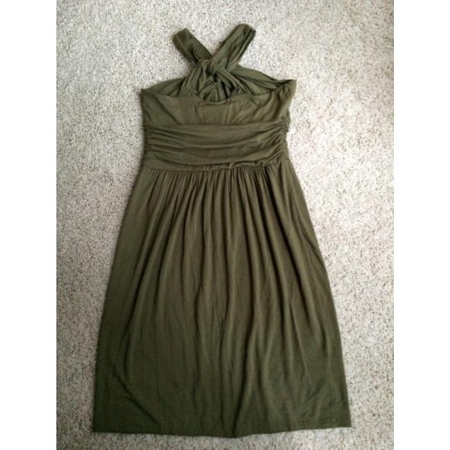 Ann Taylor LOFT short dress Olive on Tradesy