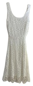 LC Lauren Conrad short dress White Lace Cut-out on Tradesy