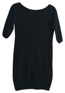 Old Navy short dress Black Fitted Bodycon on Tradesy