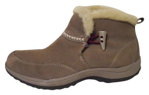 Easy Spirit Leather Suede taupe Boots