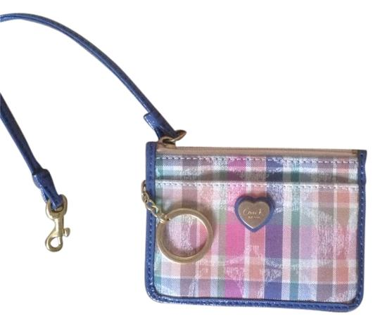 Preload https://item5.tradesy.com/images/coach-blue-with-multi-colors-id-holder-wallet-5314099-0-0.jpg?width=440&height=440