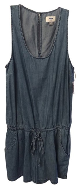 Preload https://item5.tradesy.com/images/old-navy-chambray-mini-romperjumpsuit-size-8-m-5314129-0-0.jpg?width=400&height=650