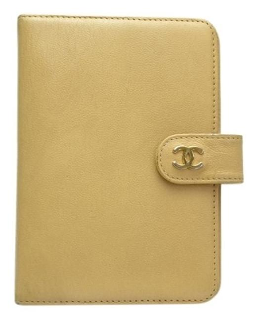 Item - Beige Pocket Agenda Tech Accessory