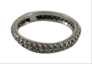 White Gold & Pave Diamond Eternity Band