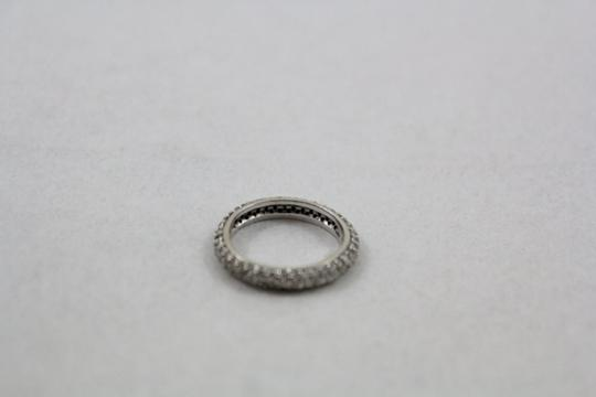 Other White Gold & Pave Diamond Eternity Band