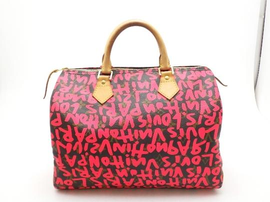 Louis Vuitton Speedy Satchel in fuchsia