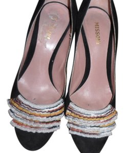 Missoni BLACK Wedges