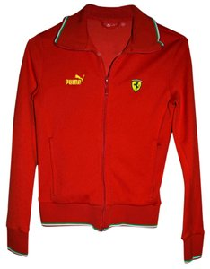 Puma Campion1 Ferrari Red Jacket