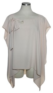 Rachel Roy Assymmetrical Tunic Top Peach
