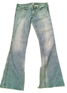 Silver Jeans Co. Distressed Denim Love Them Boot Cut Jeans-Distressed