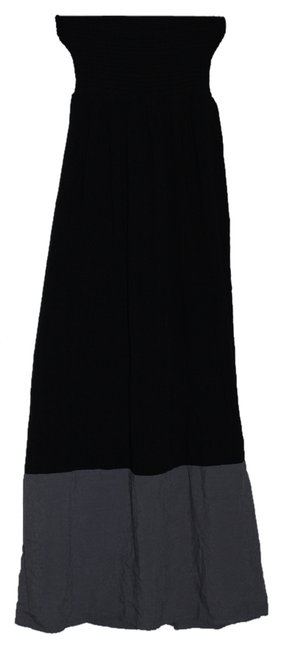Black, grey Maxi Dress by Say What?