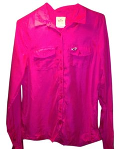 Hollister Blogger Fashion Designer Fun Top Pink
