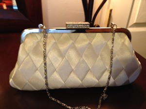 Bridal Purse - Ivory Satin