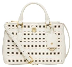 Tory Burch Leather Tote Cross Body Bag