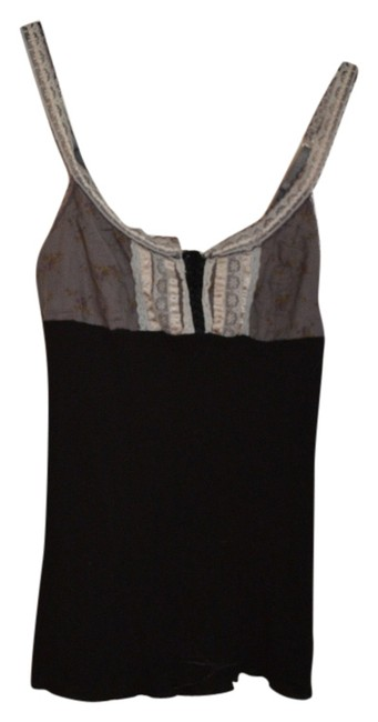 Free People Lace Up Corset Top Black