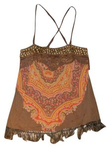 Free People Top Multi Color