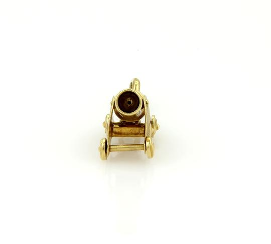 Tiffany & Co. (15088S) Tiffany & Co. Cannon Charm Pendant in 18k Yellow Gold - Vintage