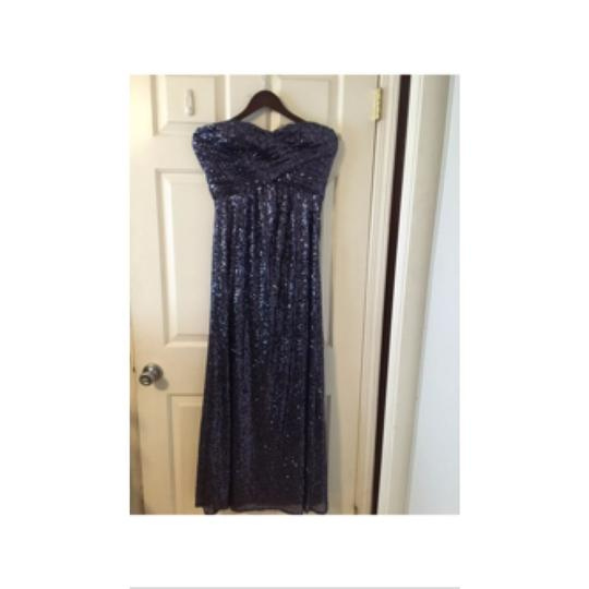 Night Way Collections Plum Purple Formal Bridesmaid/Mob Dress Size 8 (M)