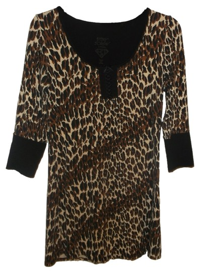 Preload https://item4.tradesy.com/images/betsey-johnson-black-brown-multi-sexy-animal-print-night-gown-shirt-s-5317708-0-0.jpg?width=440&height=440