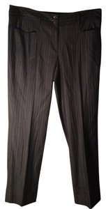 Worth Straight Pants Gray pinstripe