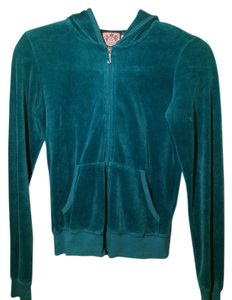 Juicy Couture Deep Turquoise/Aqua/blue Jacket