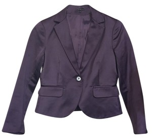 Theory Violet Office Purple Blazer