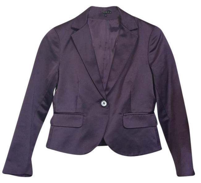 Theory Violet Office Party Purple Blazer